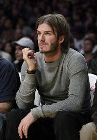 David Beckham Long Hair