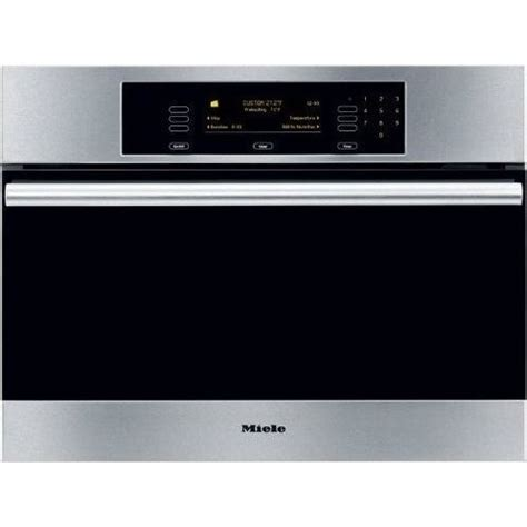 miele dgss  steam oven  convection steam cooking