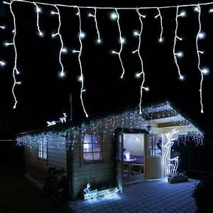 Led Weihnachtsbeleuchtung Außen : eisregen lichterkette au en weihnachtsbeleuchtung ~ A.2002-acura-tl-radio.info Haus und Dekorationen
