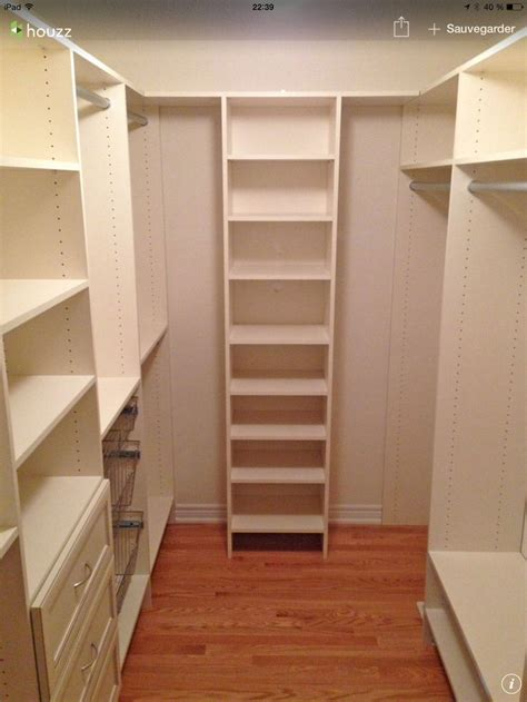 Walkin  Rangement  Pinterest  Closet Layout, Closet
