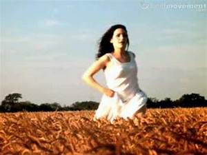 A slow motion shot of someone running through wheat - YouTube