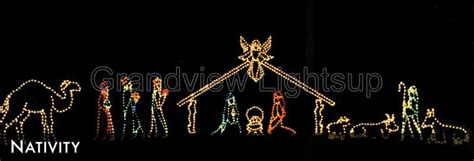 jesus outside christmas lights 1m high motif rope light and joseph with nativity set buy nativity set joseph
