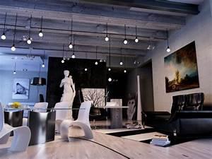 Eclairage Salon Sejour : int rieur salon de design exceptionnel des id es am nagement ~ Melissatoandfro.com Idées de Décoration