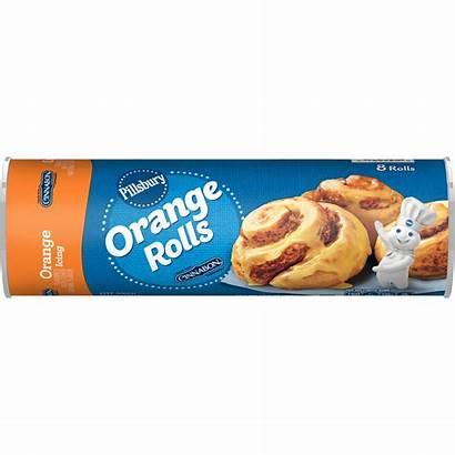 Pillsbury Rolls Orange Icing Oz Walmart Count