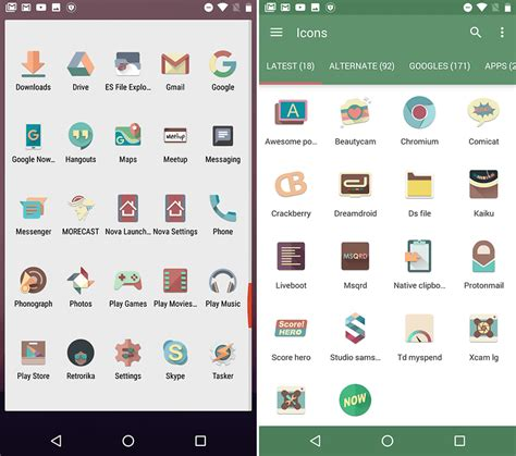 icons for android the best icon packs for android 23 packs for ultimate
