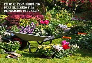 Elije el tema perfecto para el diseño y la decoracion del jardin