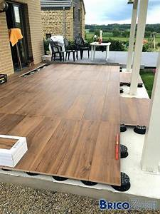 Terrasse Sur Plot : terrasse carrelage sur plots img prix pose carrelage ~ Melissatoandfro.com Idées de Décoration
