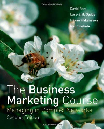 business marketing course pdf the business marketing course managing in complex