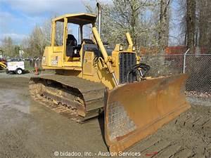 2003 John Deere 750c Lgp Series Ii Crawler Dozer Tractor 6