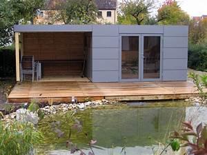 Gartenhaus Mit Terrasse : gartenhaus mit terrasse das beste aus wohndesign und m bel inspiration ~ Whattoseeinmadrid.com Haus und Dekorationen