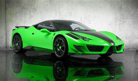 Fondo Pantalla Ferrari Tuning Green