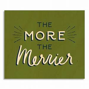 Birch Print - The More the Merrier west elm
