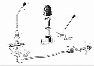 Porsche 912 Shift Lever Components  Sometimes Called The