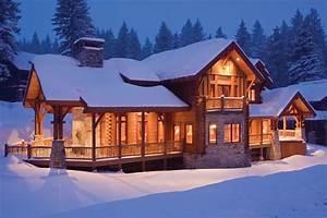 Dreamy Log Cabins: Custom Log Home in Idaho