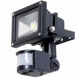 Outside Led Floodlight With Pir Motion Sensor   Industrial