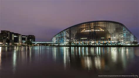Sedi Parlamento Europeo by Strasburgo Fotografia Di Viaggio