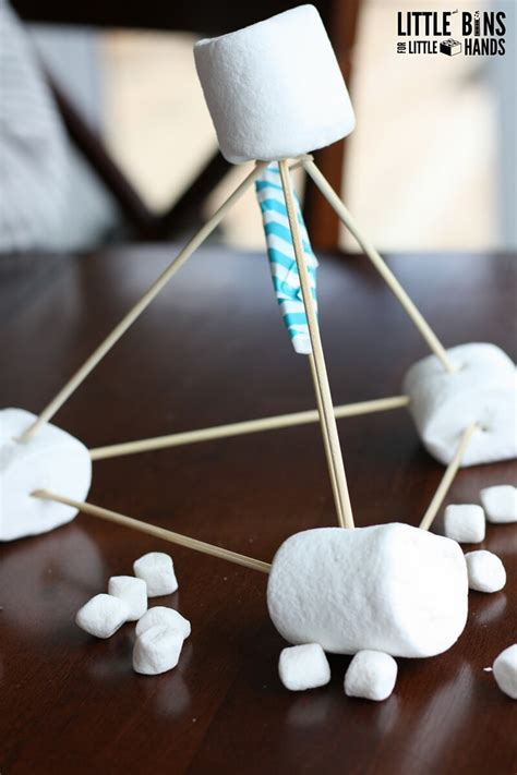 marshmallow catapult activity  kids stem
