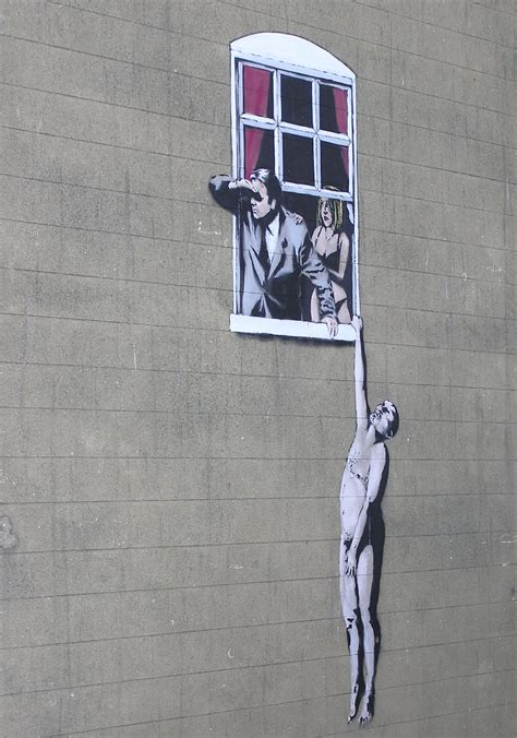 Bristol Banksy Street Art