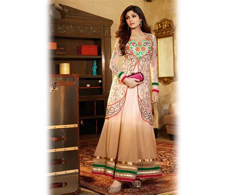 latest indian jacket style dresses gowns anarkali suits