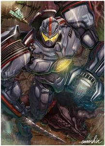 Gypsy Danger by emmshin on DeviantArt