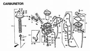 Trx450r Carburetor Diagram
