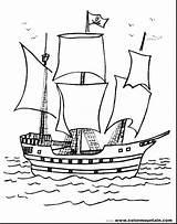 Coloring Boat Printable Ship Cruise Coloringfolder Pirate Simple sketch template