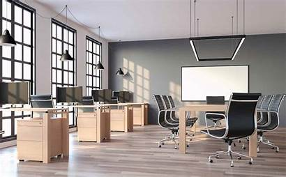 Office Lighting Minimal Led Setting Open Architectural