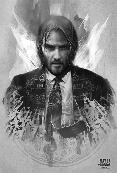 These John Wick 3 Artist Series Posters Are Incredible
