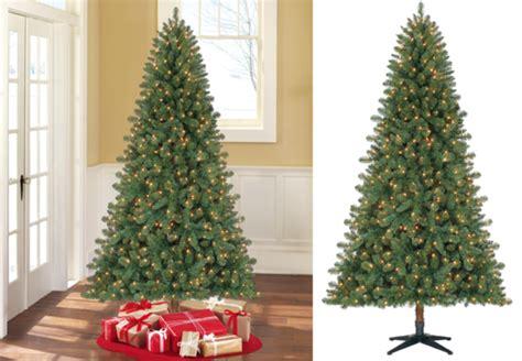 duncan fir tree 54 99 reg 89 duncan fir pre lit 7 foot tree free shipping