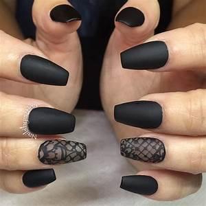 Coffin nails @KortenStEiN | N a i l s | Pinterest | Coffin ...