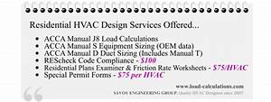 Prices Manual J Load Calculation Service
