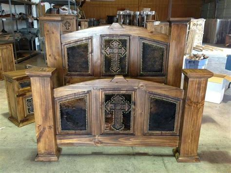 western bed set countryrustic furniture pinterest
