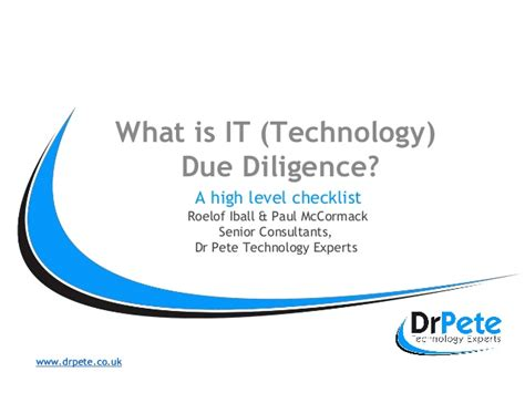 What Is Technology Due Diligence And Why Is It Important. Sample Resume Child Care Worker Template. Congratulations On Your New Endeavor. Training Proposal Template. Public Relations Pitch Example Template. School Survey Questions For Parents Template. Sample Resume Civil Engineer Template. Free Templates For Pages. Corporate Event Planning Template