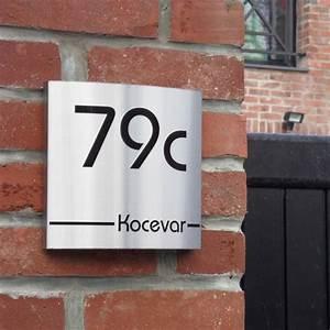 Numéro Maison Design : num ro de maison design moderne et design creativ 39 sign ~ Premium-room.com Idées de Décoration
