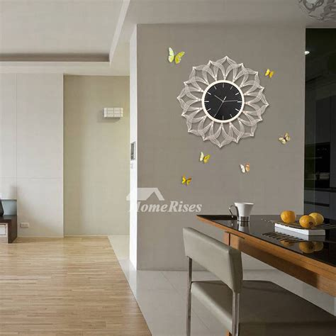 oversized   wall clock living room decorative
