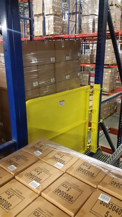 pallet rack safety gate ps safety access