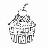 Cupcakes Coloring Kleurplaten Cupcake Kleurplaat Dibujos Colorear Ice Cakes Kinder Creams Sweets Hochzeit Adult Spiele Drawing Leukvoorkids Doces Bolos Sorvetes sketch template