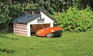 Mähroboter Garage Selber Bauen : 18 best automower garage tondeuse robot garage rasenm her roboter garage robot lawn mower ~ Orissabook.com Haus und Dekorationen