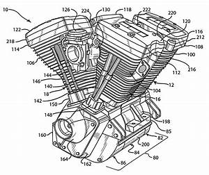 Harley Davidson V Twin Fuel Injected Engine Diagrams