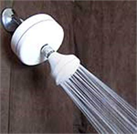 shower shut timer water conservation facts domestic water saving tips
