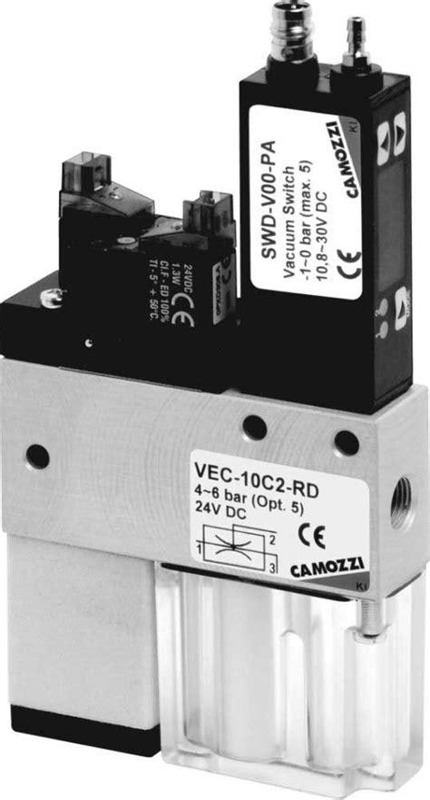 Series VEC Compact Ejectors - Camozzi Automation Ltd