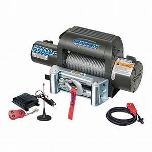 Ramsey Patriot Ut 12 Volt Dc Powered Electric Truck Winch