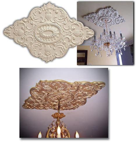 tin ceilings wishihadthat chandelier ceiling medallion polyurethane