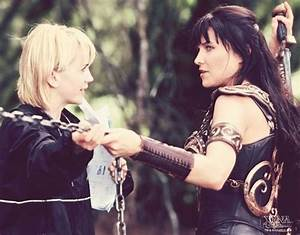 Renee O'Connor and Lucy Lawless/Xena | Xena | Pinterest