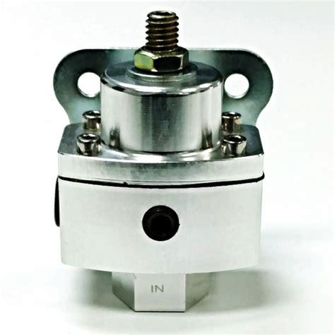 Psi Aluminum Adjustable Fuel Regulator White Gauge