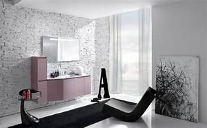 salle de bain noir et blanc une piece elegante et moderne With photo salle de bain noir et blanc