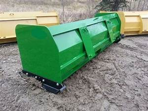 New 96 U0026quot  8 Snow Box Pusher Plow Blade John Deere Compact