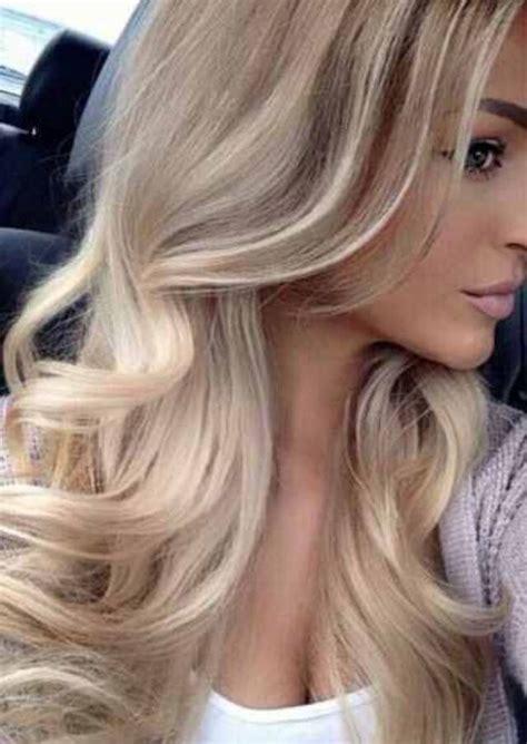 cool blondes hair pale skin