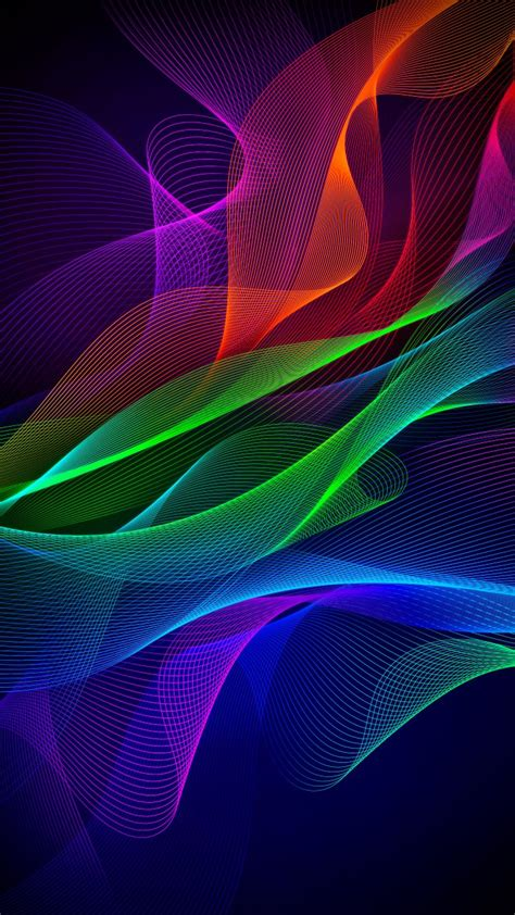 Wallpaper Hd Phone by Colorful Abstract Razer Phone Stock Wallpapers Hd