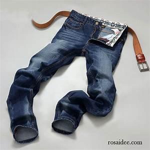 Hose Mit Löchern Herren : g nstige jeans hosen herren herbst freizeit schwarz herren jeans schlank hose trend neu kaufen ~ Frokenaadalensverden.com Haus und Dekorationen